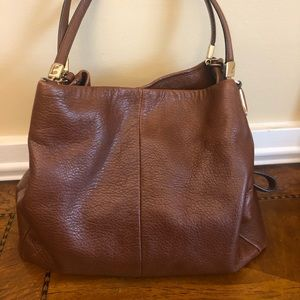 Coach Hobo Shoulder Bag in Cognac Brown